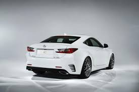 lexus is f sport coupe it s a trifecta f sport completes all lexus rc coupe line