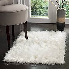 Sheepskin Area Rugs Pinkday Faux Sheepskin Area Rug Classic Rectangle