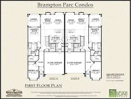 The Parc Condo Floor Plan Brampton Parc Duet Condominiums In Rochester Mi