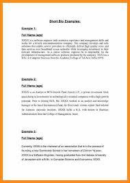 Narrative Resume Resume Bio Examples Contegri Com