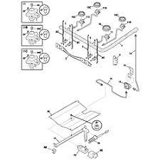 Frigidaire Oven Pilot Light Frigidaire Gas Range Parts Model Fgf337awa Sears Partsdirect