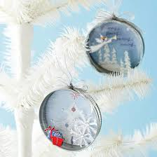 recycled jar lids for ornaments