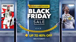 playstation store black friday early access starts for ps members