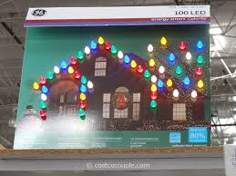 Costco Lighted Snowman by Christmas Ge Glitter Gem Garland Costco Christmas Lights Outdoor