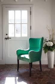 dining room wingback dining chair high back tufted chair