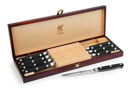 Case Cutlery Kitchen Knives Zwilling J A Henckels Professional S Steak Knife Set With