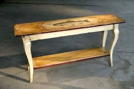 Wood Sofa Table Farmhouse Console Tables