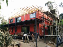 odpod shipping container house scaffolding 3 odpod shipping