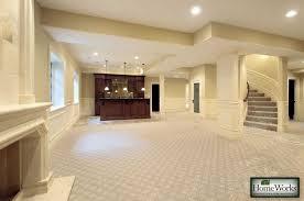 can you put ceramic tile on concrete basement floor tile for