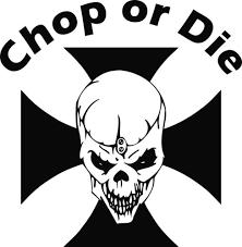 maltese cross skull die cut vinyl decal sticker die cuts