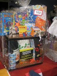 theme basket ideas silent auction basket ideas aquarium theme fish themed