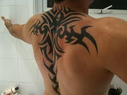 mens tattoos tribal back tattoos for