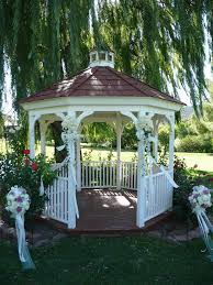 Pergola Wedding Decorations by Outdoor Gazebo Wedding Decorations Http Yesidomariage Com
