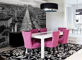 themed dining room add an eye catching wall mural into your dining room