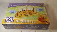 winnie the pooh menorah disney hebrew winnie the pooh menorah craft kit ebay