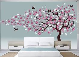 asmi collections wall stickers beautiful large cherry blossom tree