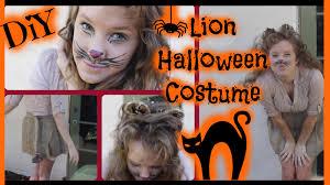 lion costume wizard of oz diy lion halloween costume haley lynne youtube