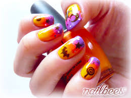 halloween nail designs nailbees