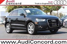 pre owned audi q3 used certified pre owned audi q3 for sale edmunds
