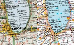 map usa chicago states cities the best american wall map david imus the essential geography