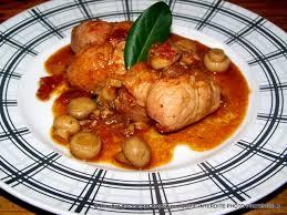 cuisiner les paupiettes de porc paupiettes de porc au paprika et aux chignons