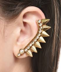 ear cuffs online india shinningdiva enamourous antique ear cuffs buy shinningdiva