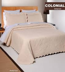 Colonial Coverlets Colonial Bedspread 1 Piece Fine Colonial Style Bedspread King