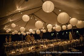 wedding tent lighting white paper lanterns light to light the tent and beautiful candles