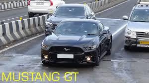 Mustang In Black Black Ford Mustang Gt In Mumbai Youtube