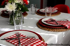 s day decoration casual table settings luxury casual s day table setting