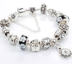 pandora style charm bracelet images Pandora style charm bracelets 925 silver bracelet glass beads for jpg