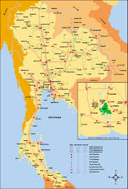 Grid Map Map Of Thai Electricity Grid Thai National Energy Grids