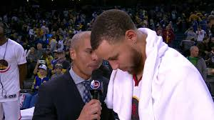 kerr curry bench segment and curry postgame interview nba com