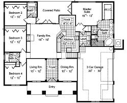 southwestern house plans boca grande ranch home plan 047d 0193 house plans and more