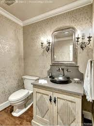 bathroom wall stencil ideas painted in similar tones and finishes stencils make for