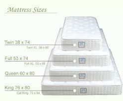 Bunk Bed Mattress Size Size Bed Mattress Dimensions Soundbord Co