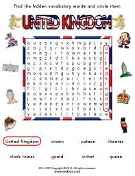 united kingdom worksheets activities games and worksheets for kids