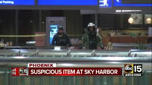 Phoenix Airport Terminal Map Sky Harbor Returning To Normal After Police Investigating