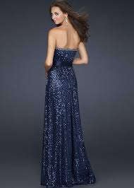 blue sequin bridesmaid dress light gold strapless sequins and jewels a line bridesmaid