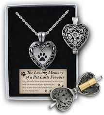 locket for ashes cathedral paw print memorial ashes locket necklace pewter