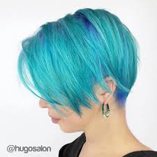 light blue hair dye 30 icy light blue hair color ideas for girls as to thin hair layers
