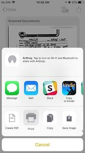 how to easily scan documents on your iphone in ios 11 ios