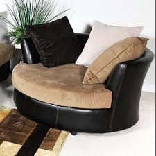 oversized round swivel chair living room oversized round swivel