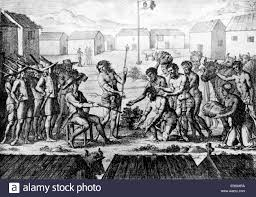 History Of The French Flag The Hoisting Of The French Flag In Madagascar In Mid 17th Century