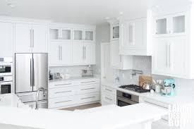 white shaker kitchen cabinets backsplash labra design build dreamy white custom kitchen