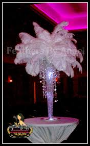 Wedding Feathers Centerpieces by Crystal Feather Centerpiece U2026 Pinteres U2026