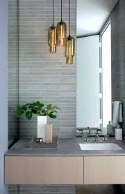 hanging bathroom light ideas pendant mirror lighting bar fixtures
