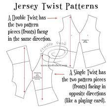 shirt pattern cutting pdf pattern insights jersey twist patterns