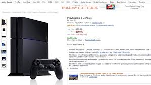 play station 4 black friday update amazon cancels orders for bogus 89 black friday ps4 deal