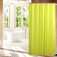 online get cheap solid yellow shower curtain aliexpress com